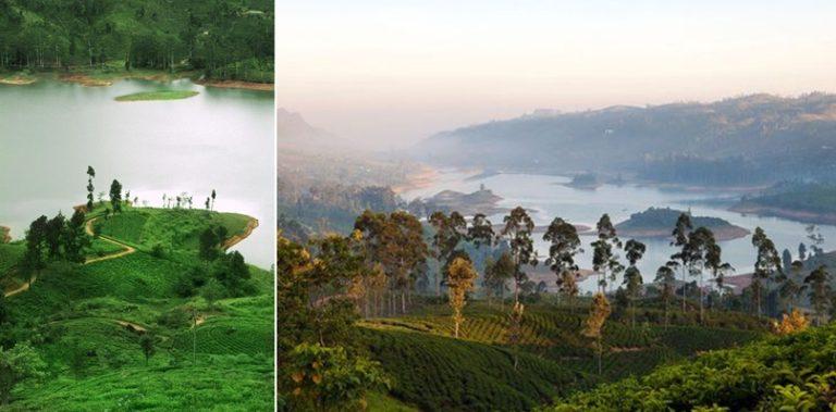 озеро на Шри-Ланке