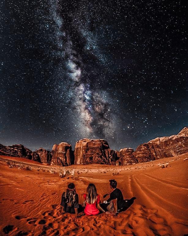 пустыня в иордания